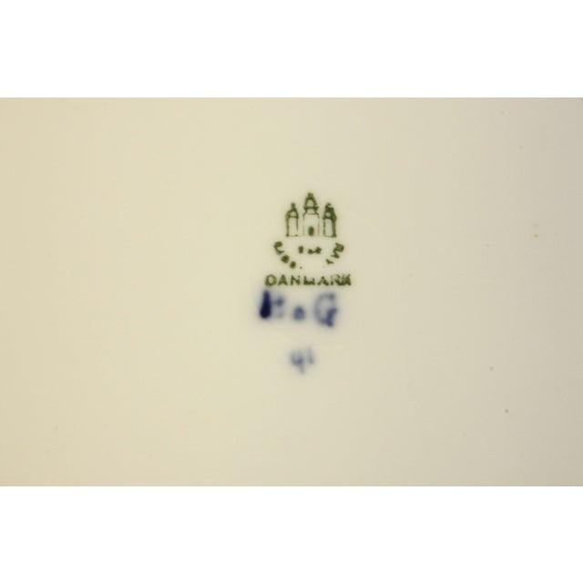 Image of Bing & Grondahl Danish Blue Empire Plates- A Pair
