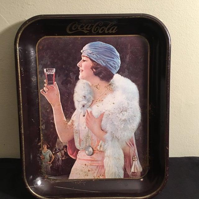 Vintage 1920's Coca-Cola Tray - Image 2 of 5