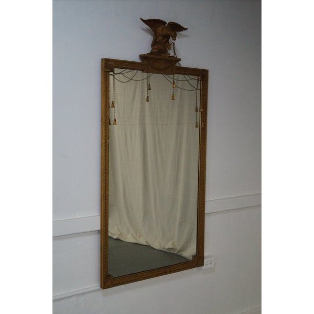 Friedman Brothers Large Federal Style Mirror - Image 2 of 7