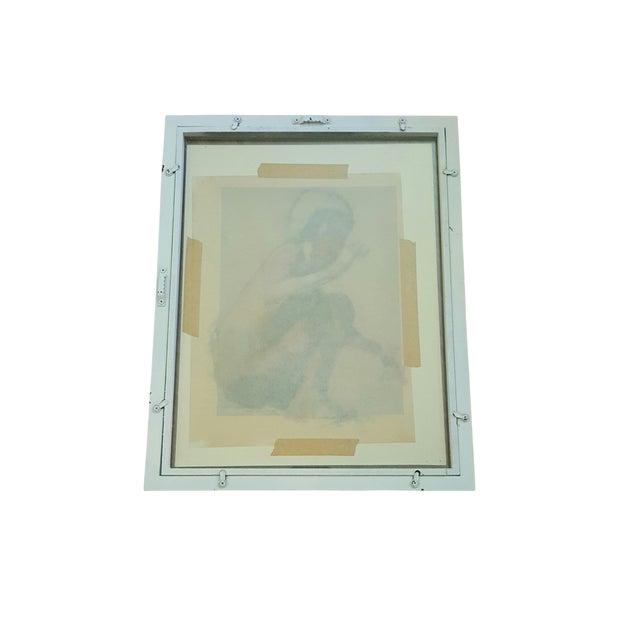Image of Vintage Original Impressionist Figure Painting