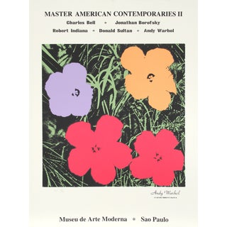Master American Contemporaries II, Print by Warhol