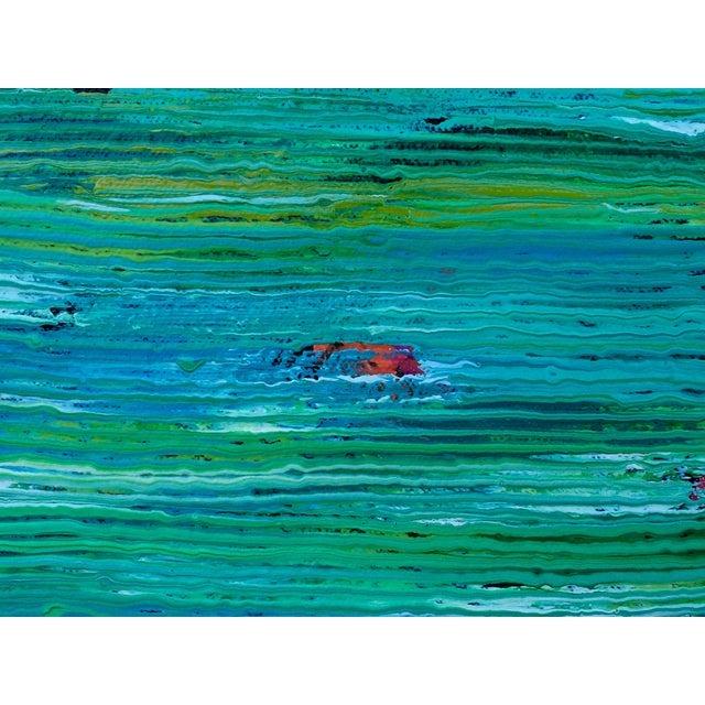 Contemporary Abstract Paintings - A Pair - Image 5 of 6