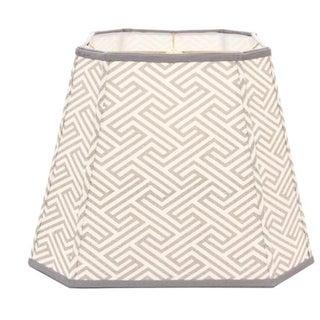 Chinoiserie Geometric Lampshade