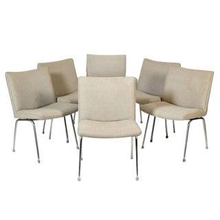 Hans J. Wegner for Carl Hansen Danish Airport Chairs - Set of 6