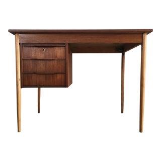 Vintage Mid Century Modern Writing Desk