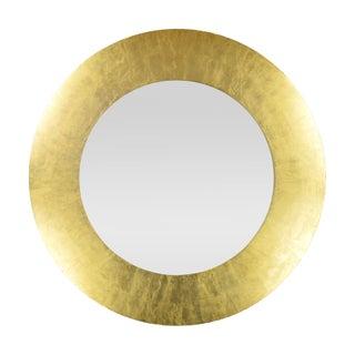 Modern Gold Circular Mirror