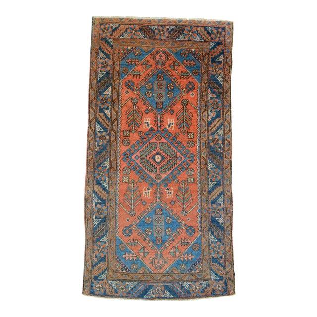 """Antique Persian Heriz Rug - 3' x 5'7"""" - Image 1 of 11"""