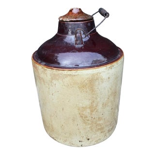 Antique Weir Canning Crock c.1910