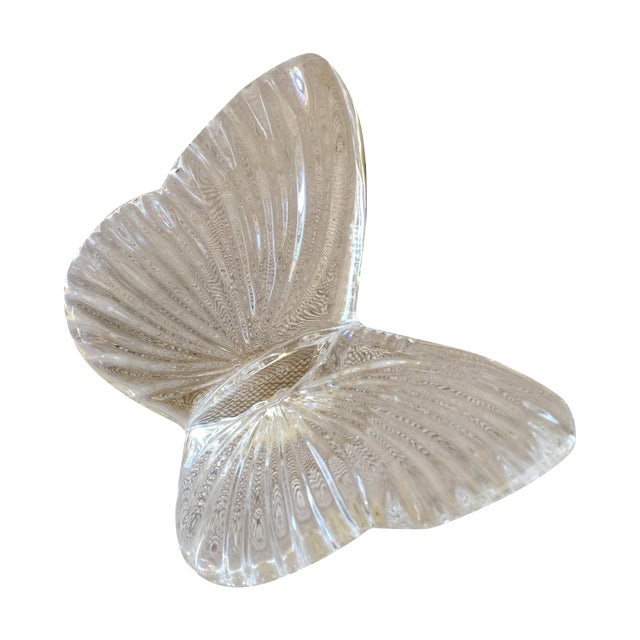 Image of Vintage Crystal Butterfly