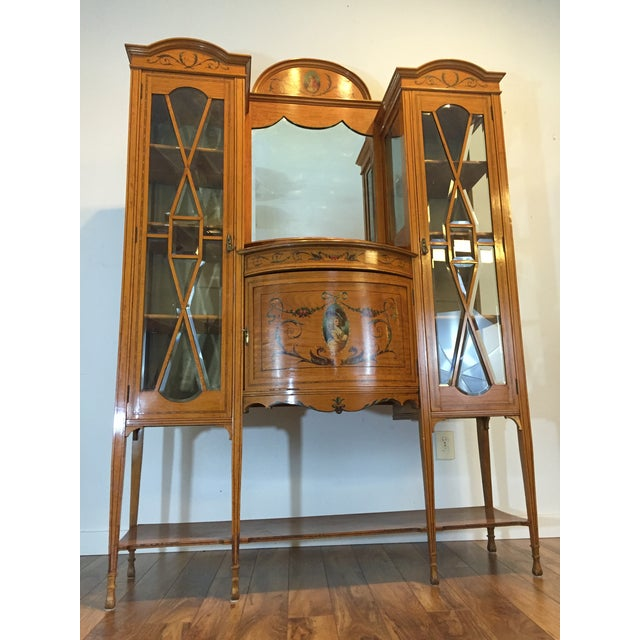 Antique European Display Hutch - Image 3 of 11