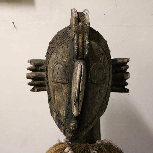 Image of New Guinea Folk Statue
