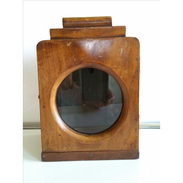 Image of 1930's Art Deco Key Holder Safe