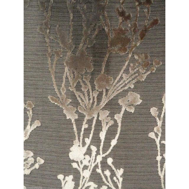 Arc|Com Provence Gold Floral Velvet - 7 Yards - Image 2 of 3
