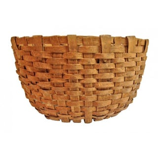 Early Handwoven Utility Basket