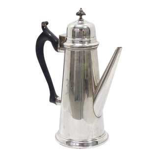 Jacob Hurd by Frank Whiting Sterling Silver Tea Coffee Pot