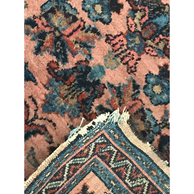 Antique Persian Lilihan Rug - 2′2″ × 3′ - Image 6 of 8