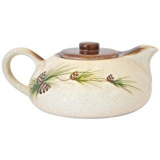 Pinecone Stoneware Teapot