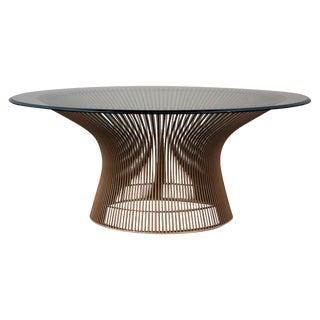 Warren Platner Original Bronze Coffee Table