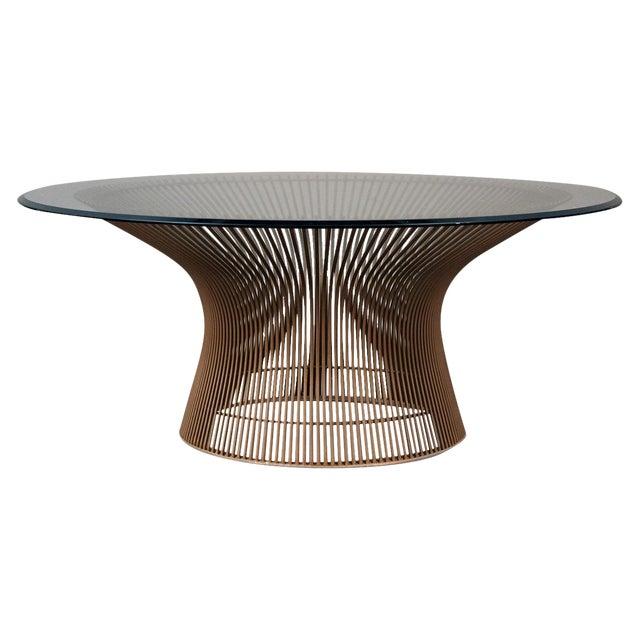 Warren Platner Original Bronze Coffee Table - Image 1 of 8