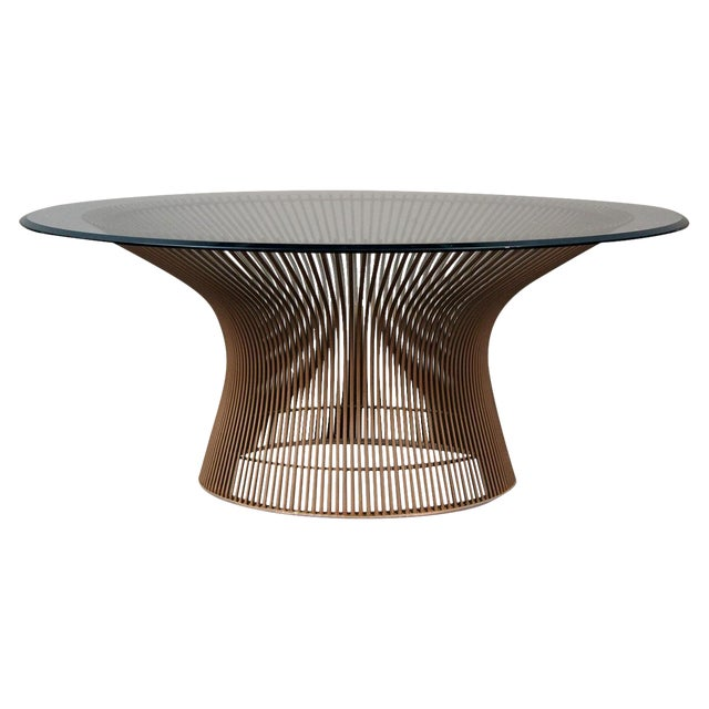 Image of Warren Platner Original Bronze Coffee Table