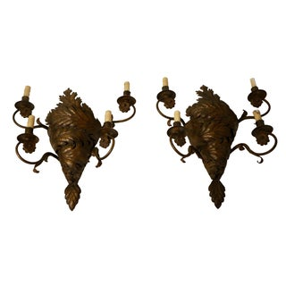 Paul Ferrante Wall Sconces - A Pair