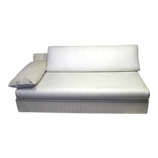 Modern Designer Armless Sofa Settee