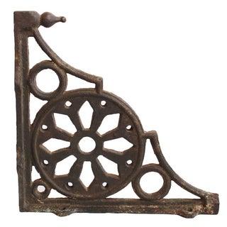 Antique Rajasthan Cast Iron Brackets - A Pair