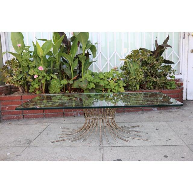 "Vintage Metal ""Tree"" Roots Coffee Table - Image 4 of 11"