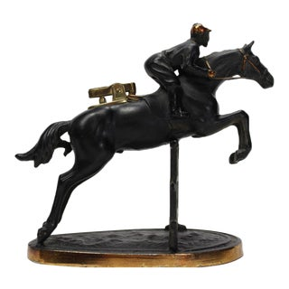 English Steeplechase Cigarette Lighter