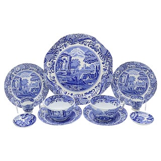 Spode Italian Breakfast For Two - 11 Pieces