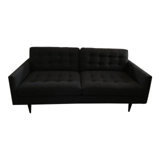 Crate & Barrel Petrie Modern Tufted Sofa