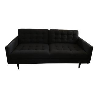Crate & Barrel Petrie Modern Tufted Sofa