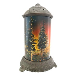 Antique Glass Motion Lamp