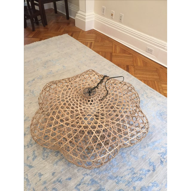 Serena and Lily Rattan Pendant Light - Image 2 of 5