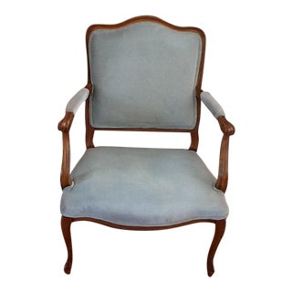 Vintage French Provincial Louis XV Armchair