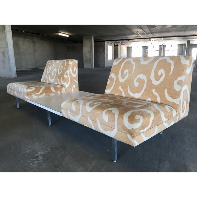George Nelson Herman Miller Sofas With Center Tables - A Pair - Image 7 of 11
