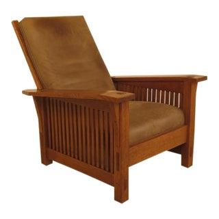 Stickley Mission Oak Arts & Crafts Morris Chair