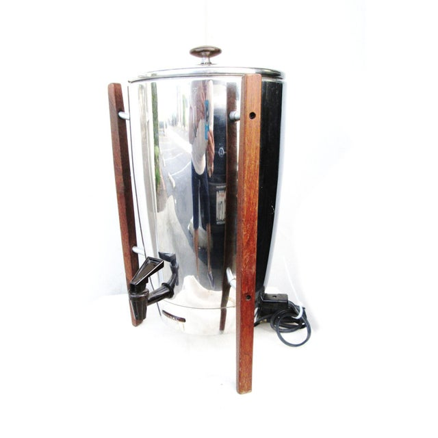 Regal Stainless Steel Electric Modern Coffee Pot - Image 2 of 4