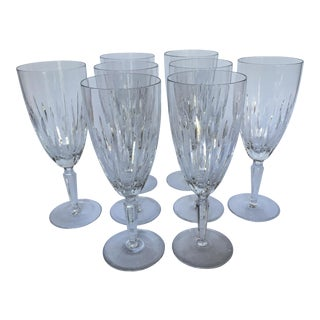 "Waterford Crystal ""Marquis"" Water Glasses - Set of 8"