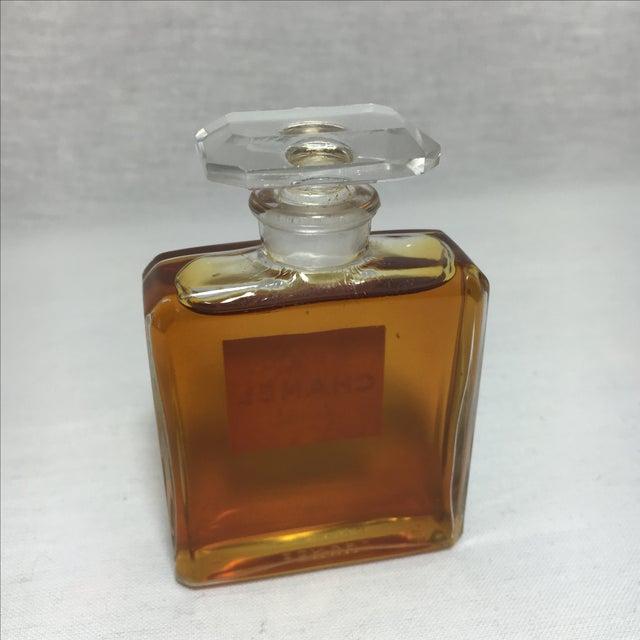 Image of Vintage Chanel No 5 Paris Perfume Bottle