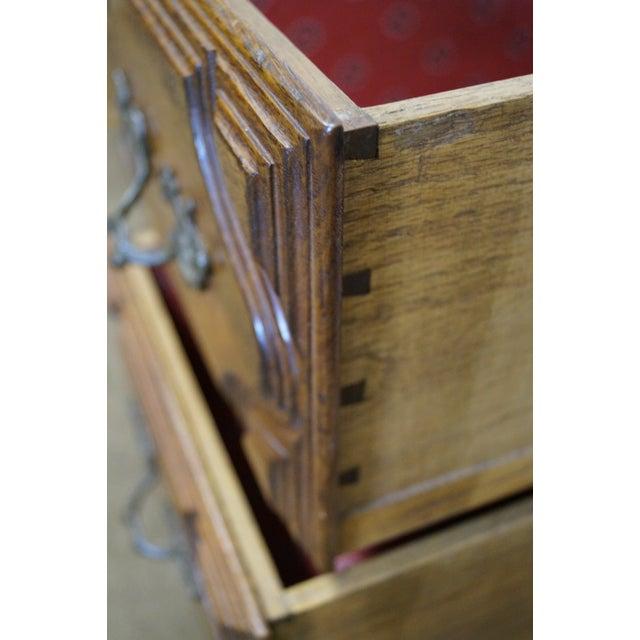 Image of Vintage French Provincial Walnut Desk