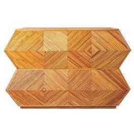 Mid-Century Modern Bamboo Dresser