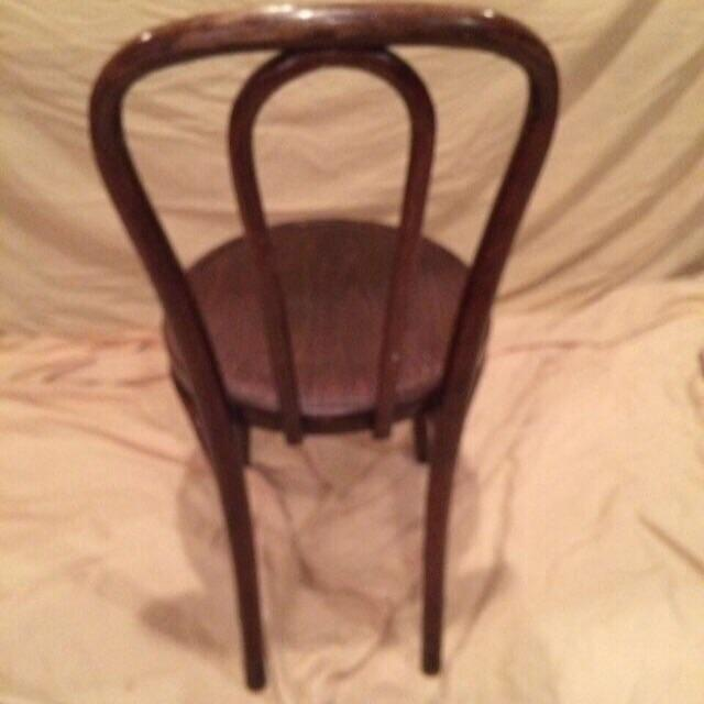 Vintage Thonet Bentwood Cafe Chair - Image 3 of 8