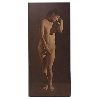 Alejandro Rosemberg Female Nude Oil Painting