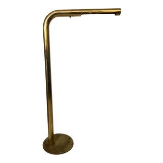 Modern Brass Waterfall Floor Lamp