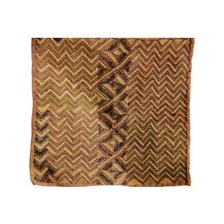 African Kuba Raffia Cloth