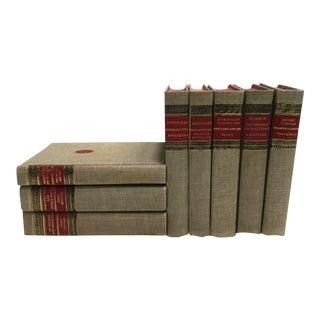 Linen Bound Classics - Set of 8