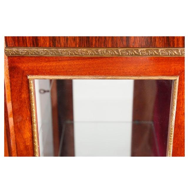 1930s Louis XVI Style Vitrine Cabinet - Image 6 of 7