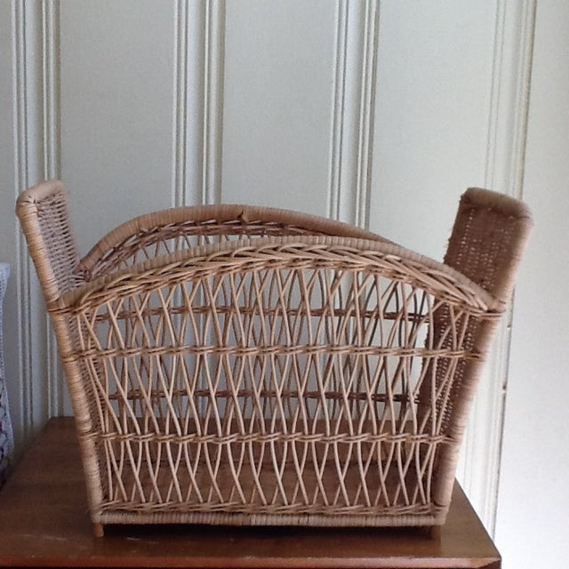 Natural Wicker File Basket - Image 7 of 8