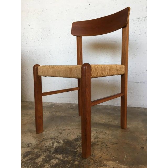 Danish Modern Dining Chair: Mid-Century Danish Modern Dining Chair